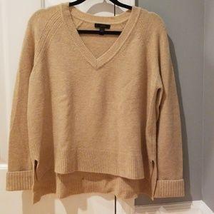 Tan J Crew Sweater